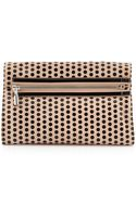 Elizabeth And James Cynie Polka Dot Convertible Clutch Bag Champagne - Lyst