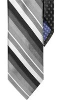 Perry Ellis Striped and Polka Dot Tie - Lyst