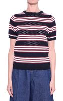 See By Chloé Cotton Striped Shirt - Lyst