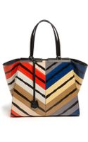 Fendi 3jours Medium Genuine Snakeskin Shopper - Lyst