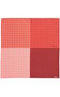 Lanvin Polka Dot Silk Pocket Square - Lyst