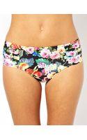 Seafolly Summer Garden Sweetheart Mid Waist Bikini Bottom - Lyst