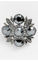 Givenchy Crystal Brooch - Lyst