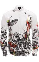 McQ by Alexander McQueen Toxic Animal Print Shirt - Lyst