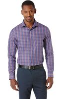 Perry Ellis Double Check Sport Shirt - Lyst