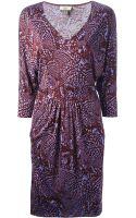 Issa Printed Jersey Dress - Lyst