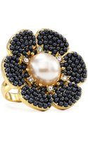 Kate Spade Park Floral Ring - Lyst
