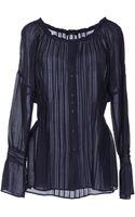 Caractere Long Sleeve Shirt - Lyst