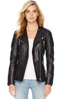 Michael by Michael Kors Quilted Leather Jacket - Lyst