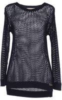 Michael by Michael Kors Long Sleeve Sweater - Lyst