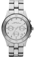 Marc By Marc Jacobs Blade Stainless Steel Chronograph Watch - Lyst