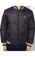 Fred Perry Bomber Jacket with Tipping - Lyst