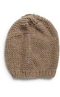 Portolano Knit Mushroom Beanie - Lyst