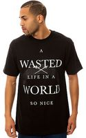 Blvck Scvle The A Wasted Life Tee - Lyst