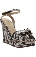 Charlotte Olympia Melody Wedge - Lyst