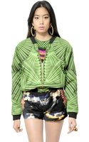 Manish Arora Printed Woven Cotton Rayon Jacket - Lyst