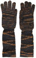 Missoni Wool Knit Gloves - Lyst