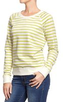 Old Navy Printed-crew Sweatshirt - Lyst