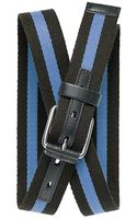 Banana Republic Striped Webbed Belt - Lyst