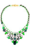 Shourouk Theresa Crystal Embellished Necklace - Lyst