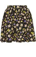 Topshop Wild Flower Flippy Skirt - Lyst