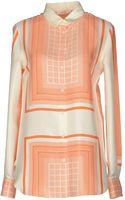 Celine Long Sleeve Shirt - Lyst