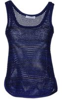 See By Chloé Sleeveless Jumper - Lyst