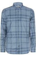 Burberry London Pulbury Checked Cotton Shirt - Lyst