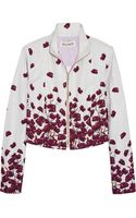 Suno Printed Cotton-blend Faille Jacket - Lyst