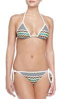 Missoni Wavy-print String Bikini - Lyst