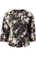 Dolce & Gabbana Floral Print Jacket - Lyst
