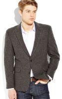 Tommy Hilfiger Grey Shetland Sport Coat - Lyst