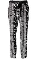 Proenza Schouler Printed Trousers - Lyst