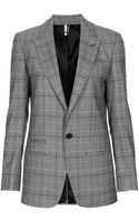 Topshop Modern Tailoring Tailored Check Jacket - Lyst