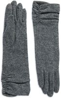 Echo Long Ruched Gloves - Lyst