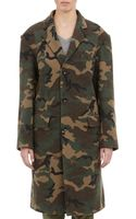 Nlst Camouflage Coat - Lyst
