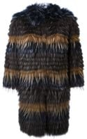 Yves Salomon Marmot Fur Coat - Lyst