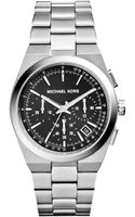 Michael Kors Womens Chronograph Channing Stainless Steel Bracelet Watch 38mm - Lyst
