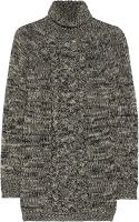 Etoile Isabel Marant Daniels Cable Knit Wool Turtleneck Sweater - Lyst