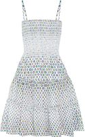 Issa Printed Cottonvoile Dress - Lyst
