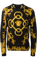 Versace Baroque Sweater - Lyst