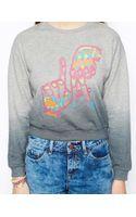 Asos Sweatshirt with Embroidered La Hands - Lyst