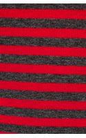 Splendid Striped Drapey Lux Tee in Red - Lyst