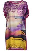 Mary Katrantzou Short Dress - Lyst