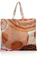 Sophie Anderson Spiro Large Printed Cottoncanvas Tote - Lyst