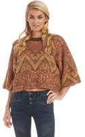 Free People Superstar Pullover - Lyst