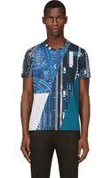 Calvin Klein Traffic Print T-Shirt - Lyst