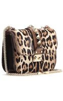Valentino Lock Calf-hair Shoulder Bag - Lyst