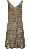 Polo Ralph Lauren Sequin Quincy Dress - Lyst
