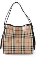 Burberry Canterbury Checked Bag - Lyst